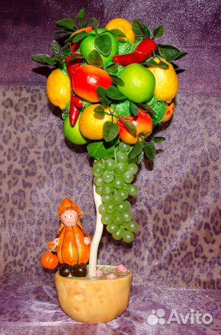 Как сделать искусственные фрукты