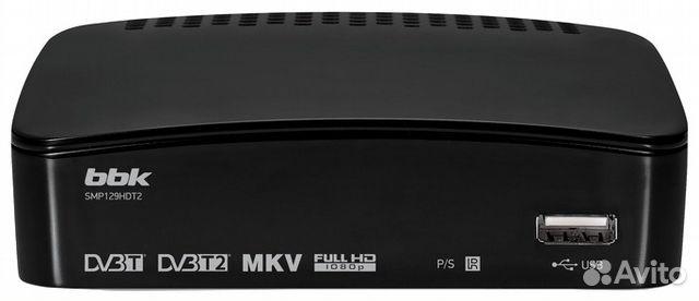 Ресивер DVB-T2 BBK (новый)