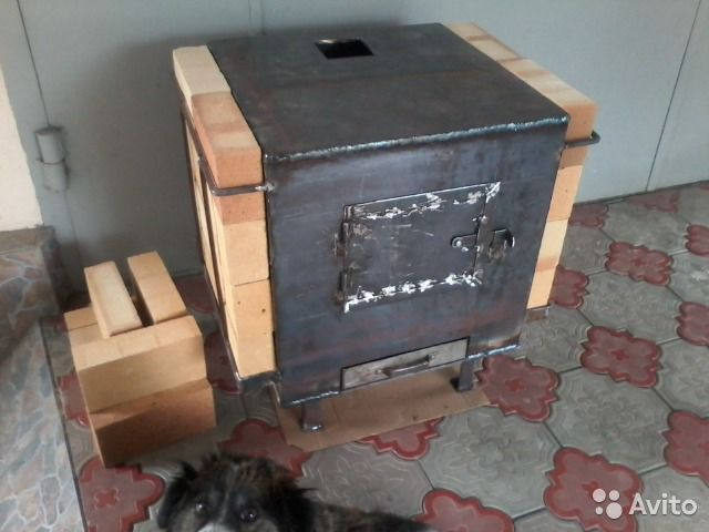 Печка на дровах купить