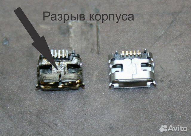 Замена мини usb на телефоне