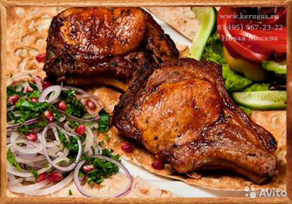 Шашлык из свинины корейка с фото