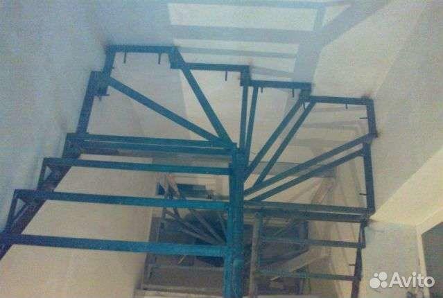 Каркас для лестницы на второй этаж своими руками