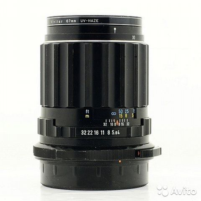 #8638 pentax 67 smc macro-takumar 135mm f4 lens 6x7 excellent condition