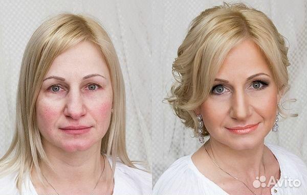 Прически и макияж для мамы