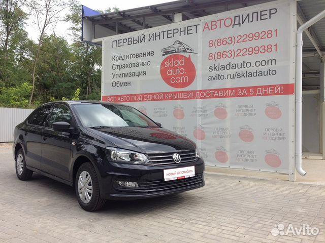 Объявление о продаже volkswagen polo, 2017 в ростовской области на avito