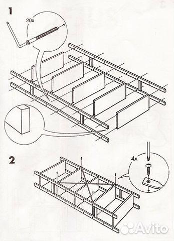 Схема сборки полок икеа