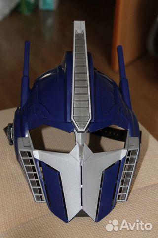 Как сделать маску оптимуса прайма из картона