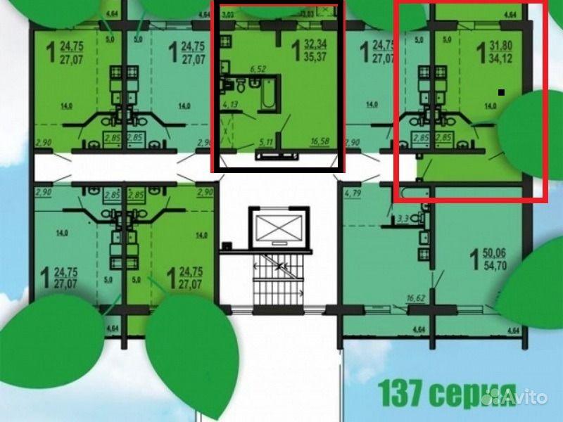 1-комнатная квартира: 36/32/2м2, этаж 8/11 - продам квартиру.
