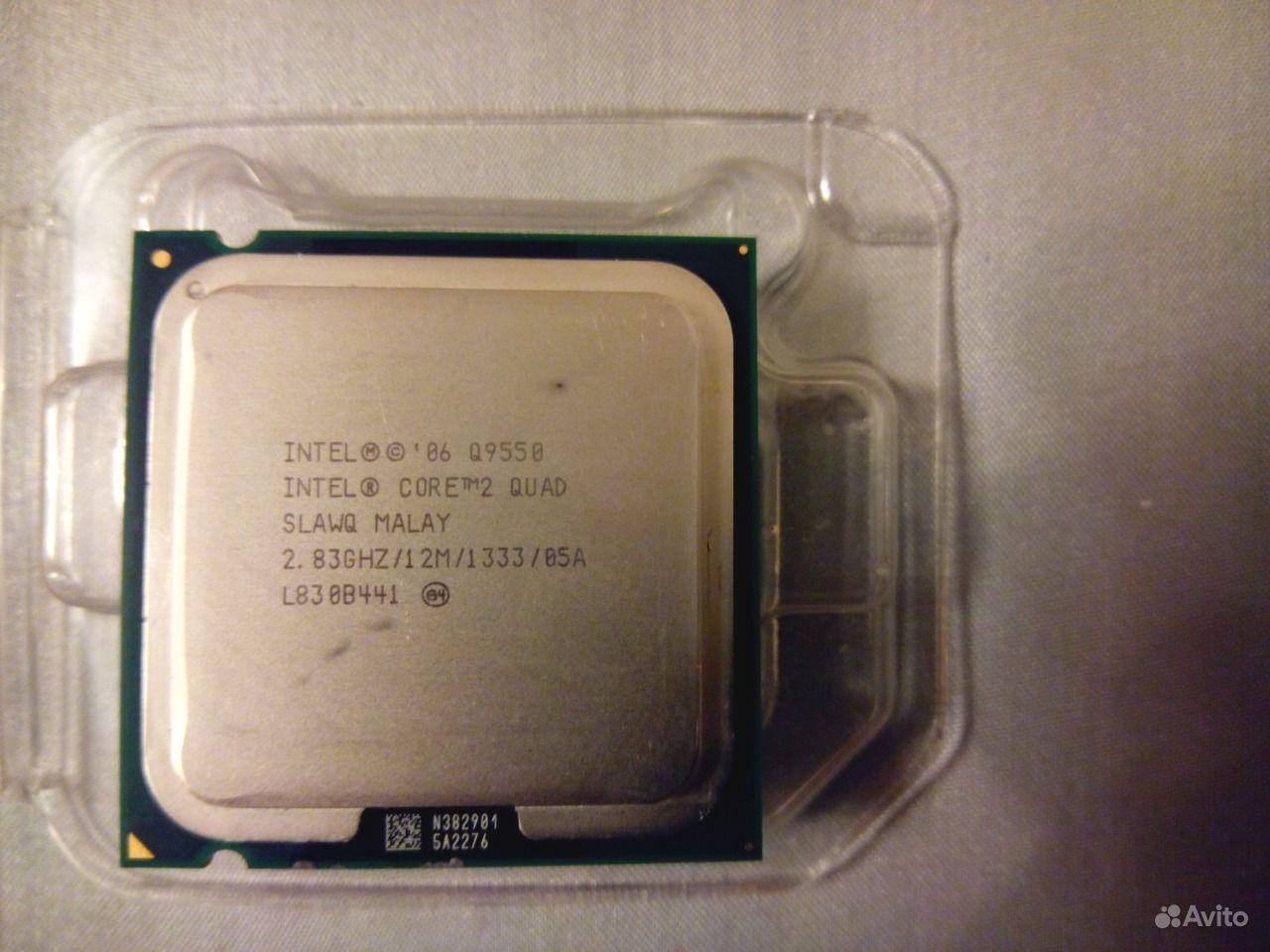 Lga 775 Intel Core Quad Q9550 2 Q 9550