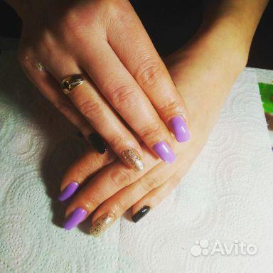 Маникюр,наращивание ногтей купить на Вуёк.ру - фотография № 5