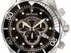 Invicta 0858 grand diver black wood swiss chronogr