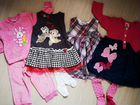 Пакет одежды на девочку 80-86,состояние новых