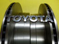 Тормозные диски Задние Тойота LC Прадо 120 новые