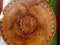 Блюда из дерево Таджикиский, Табоки чуби