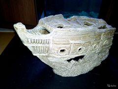 Декор.Корабль керамика новый