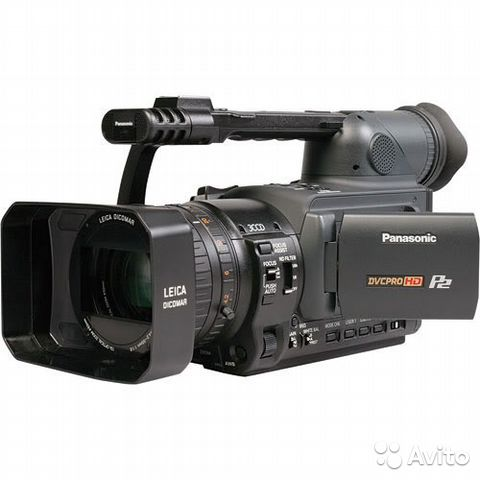 Panasonic AG-HVX204AER + FireStore100 (160Gb)— фотография №1