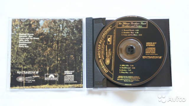 Mfsl udcd 617 Allman Brothers Band Gold CD— фотография №1