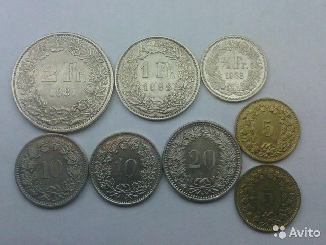 Монета в швейцарии монеты красная книга 1993