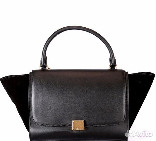 Женская сумка Celine Trapeze копия купить