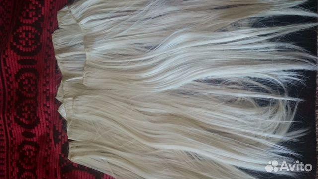 Осветлить волосы на заколках