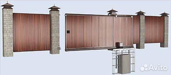Фирма изготавливающая раздвижные ворота в краснодаре какая длина дачных ворот