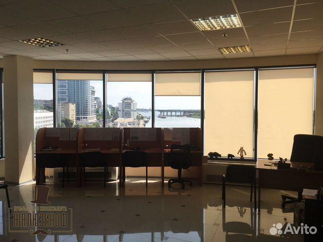 рулонные шторы на панорамные окна Festimaru мониторинг