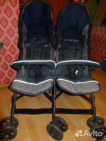 Коляска для двойни Mobility One