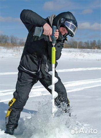 рыбалка сверление лунок шуруповертом