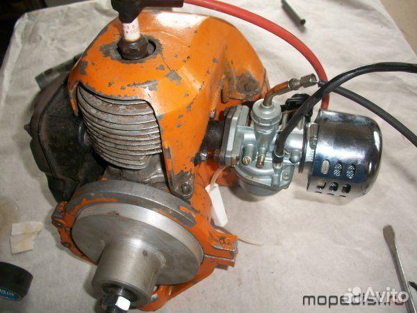 лодочный мотор на базе пилы урал