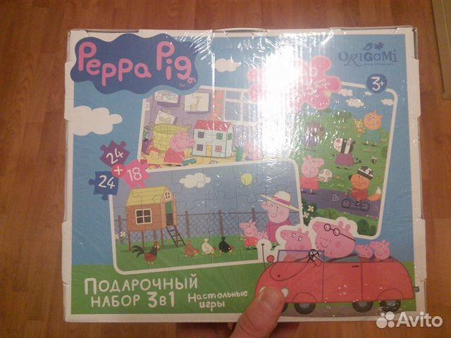 игры свинка пеппа для детей 3 лет