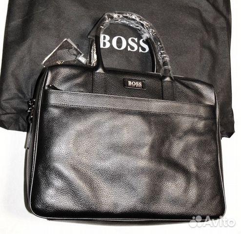 d7cf951e2d8d Мужская кожаная сумка портфель Hugo Boss premier | Festima.Ru ...
