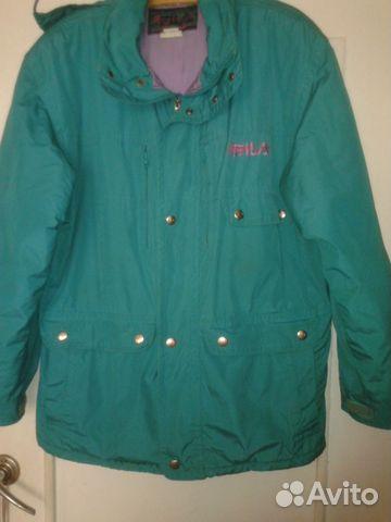 ea19245fb96 Куртка мужская утеплённая fila купить в Санкт-Петербурге на Avito ...