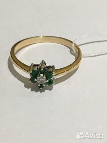 f23098ec3ded Продаю кольцо 585 пр с изумрудами и бриллиантом купить в Самарской ...