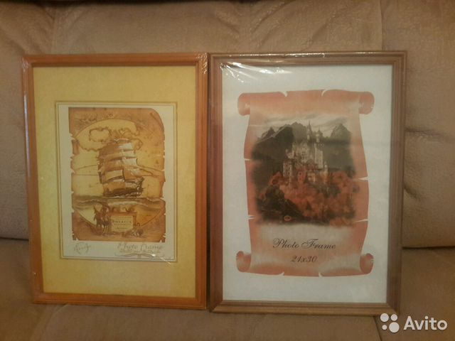 деревянная рамка со стеклом для фото 2130 см купить в санкт