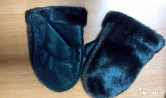 41b96f5a3dfd Варежки норка мужские купить в Курганской области на Avito ...