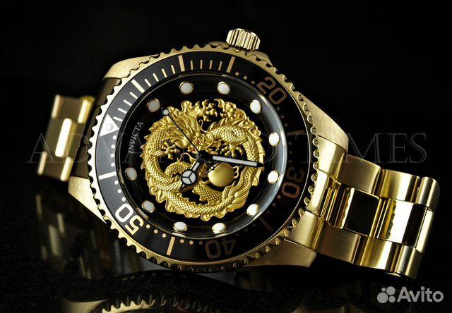 96aa392558d5 Швейцарские часы Invicta Pro Diver Dragon 26490 купить в Москве на ...