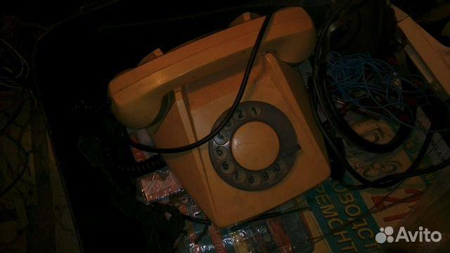 Телефон дисковый ретро