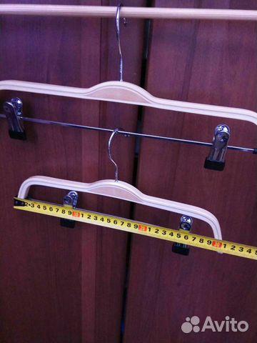 Новые деревянные плечики вешалки 89502092284 купить 6
