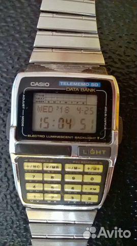Часы калькулятор casio купить