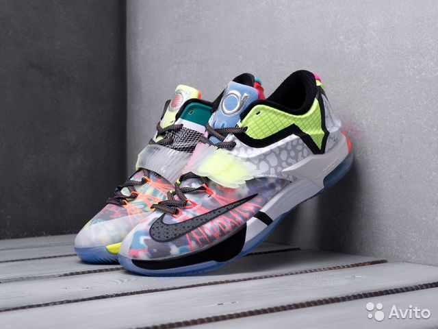 hot sale online 44fe6 8a3dc Кроссовки nike KD 7 What the kd