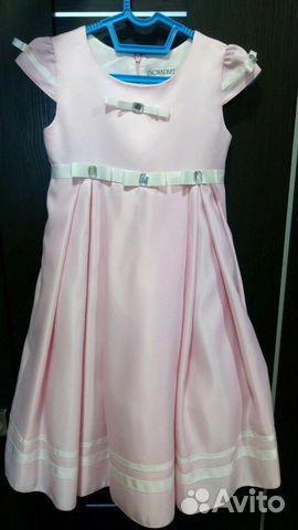 Платье Unona, размер 122-128 купить 1