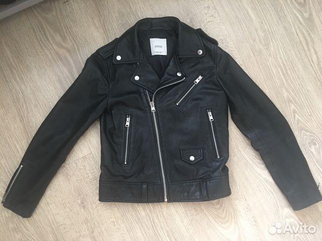 Кожаная куртка-косуха Mango (натуральная кожа) купить в Санкт ... 7bf477c2eb029