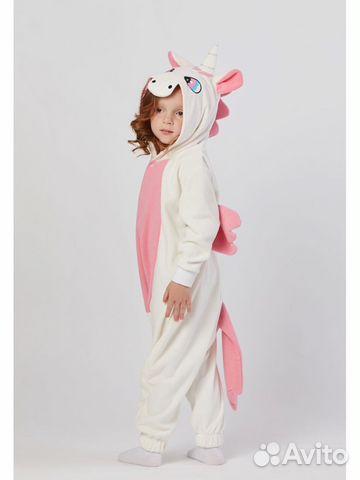 Пижама Кигуруми Розовый Единорог  e9dc27d4a3ef5