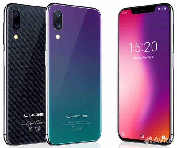 Umidigi One Pro (4 гб 64 гб) новый  NFC купить в Москве на