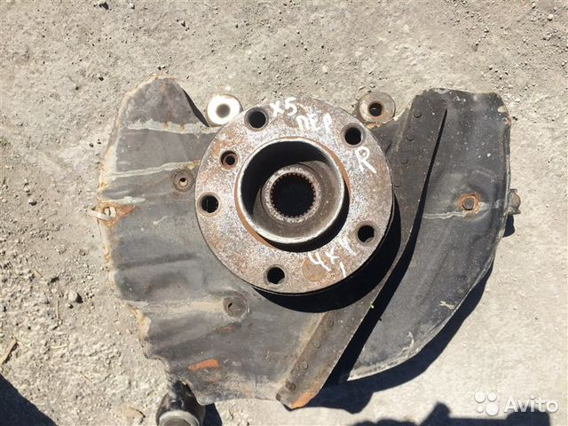 89026196331 Кулак поворотный передний правый Bmw X5 E53 2001