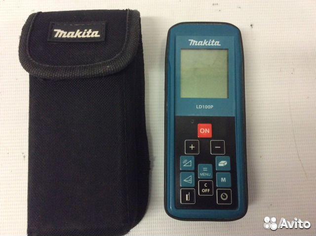 Makita Entfernungsmesser Ld100p : Лазерный дальномер makita ld p б у № s festima