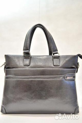 9702de2ce7be Деловая мужская кожаная сумка с ручками 2080 | Festima.Ru ...