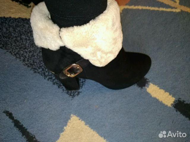 Ботиночки женские, замшевые,зимние.Очень теплые  89656415406 купить 7