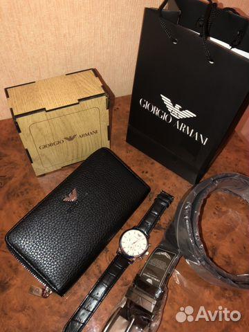 Набор мужской Часы портмоне ремень   Festima.Ru - Мониторинг объявлений 8f5d6c1b382
