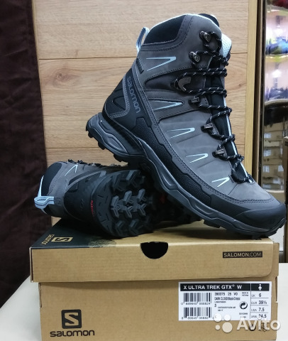 outlet store 37675 52c10 Ботинки salomon X ultra trek GTX W. оригинал
